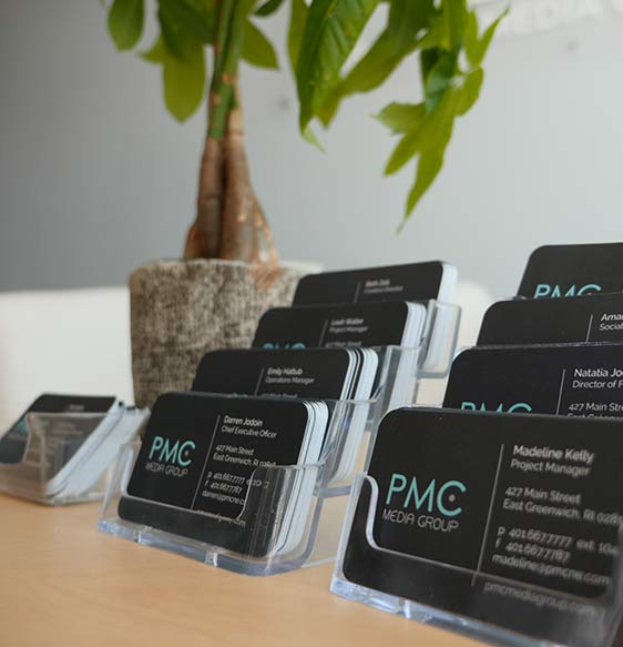 PMC Media Group, PMC Media, PMC, PMC Business Cards