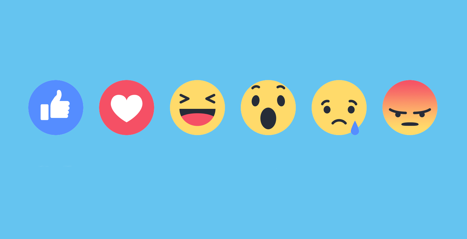 Image result for facebook reactions
