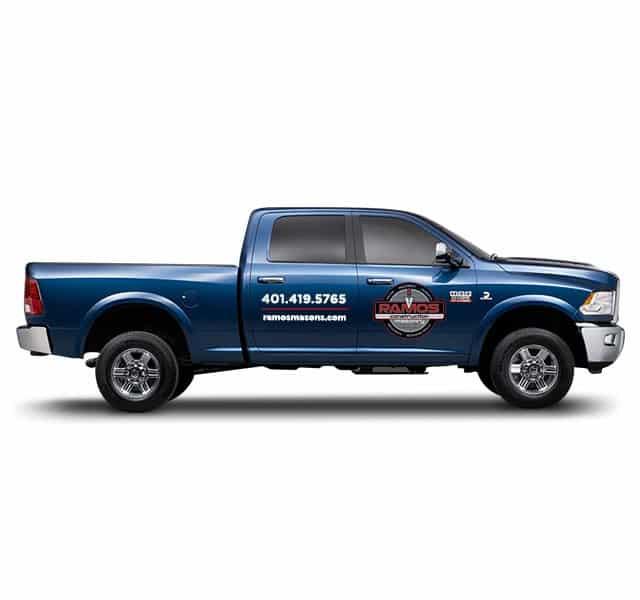 Ramos Truck Wrap Design at PMC Media
