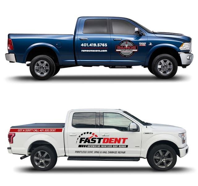 PMC vehicle graphics