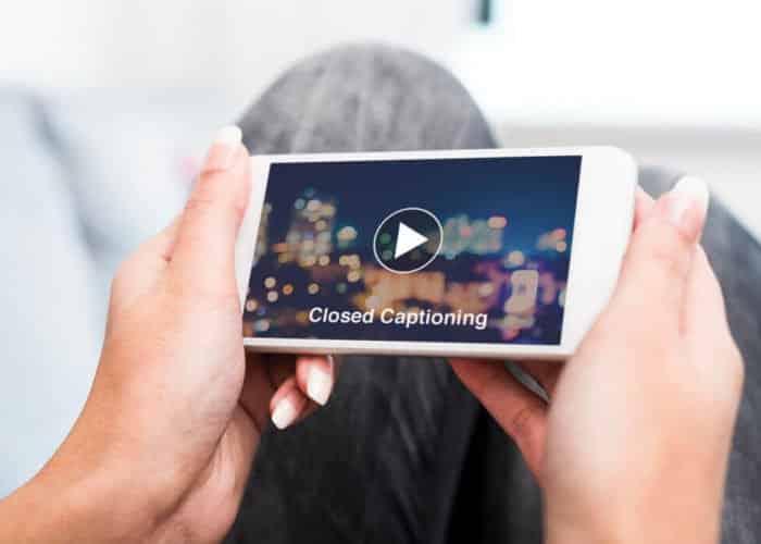 PMC media group captioning videos on social media