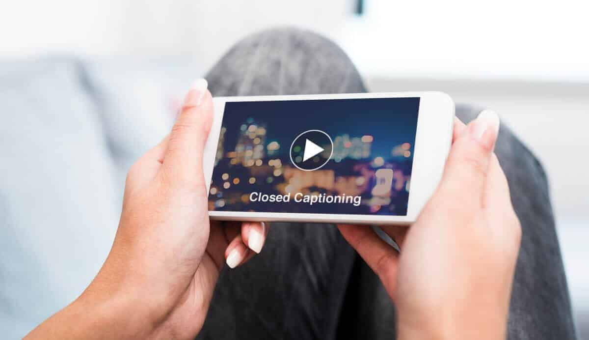 PMC media group captioning videos on social media
